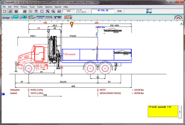 TrailerWIN Truck & Trailer construction software